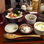 魚角の新メニュー『鮭の五色茶漬け』を食べる