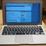 MacBook Airを購入してから7ヶ月経ってた…